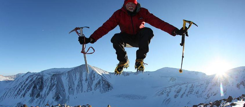 Mongolia Expeditions were organized for Sean Burch's logistic support of 23 first ascents – solo of him