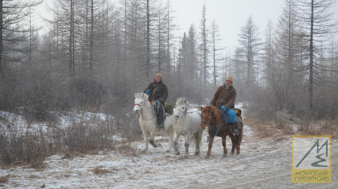 Horse Riding to Tsaatan Shamans