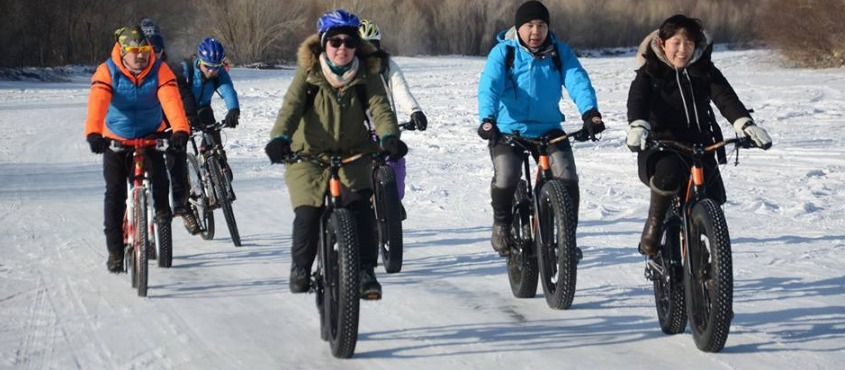 Winter Cycling tour took place on January 14nd