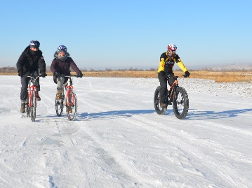 Winter Biking Tour in Mongolia